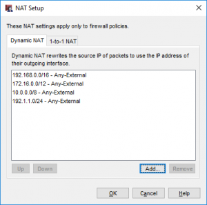WatchGuard Dynamic NAT 3