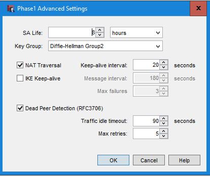 IPSec VPN WatchGuard Android (nativer Client) - BOC IT