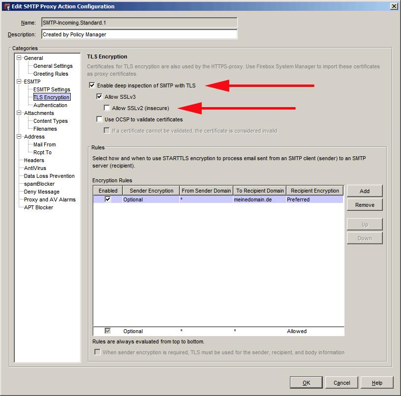 LetsEncrypt Zertifikat als Proxy-Zertifikat auf Watchguard Firebox ...
