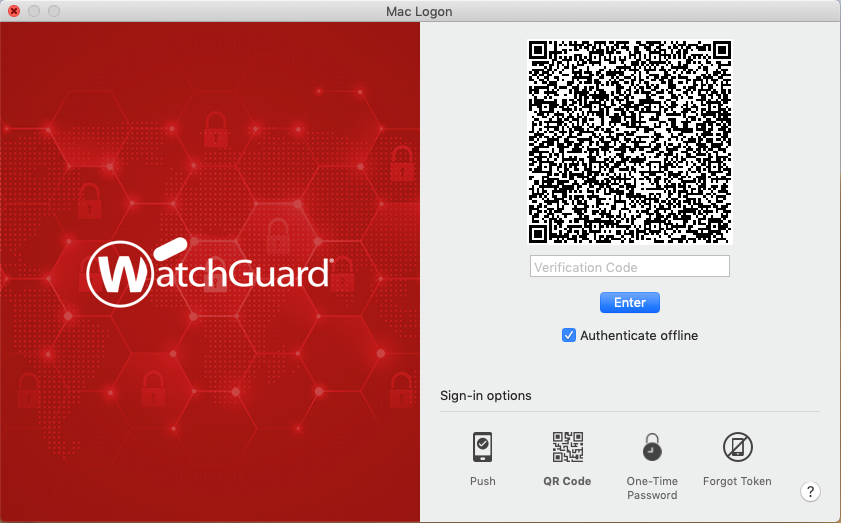WatchGuard AuthPoint MacOS Logon