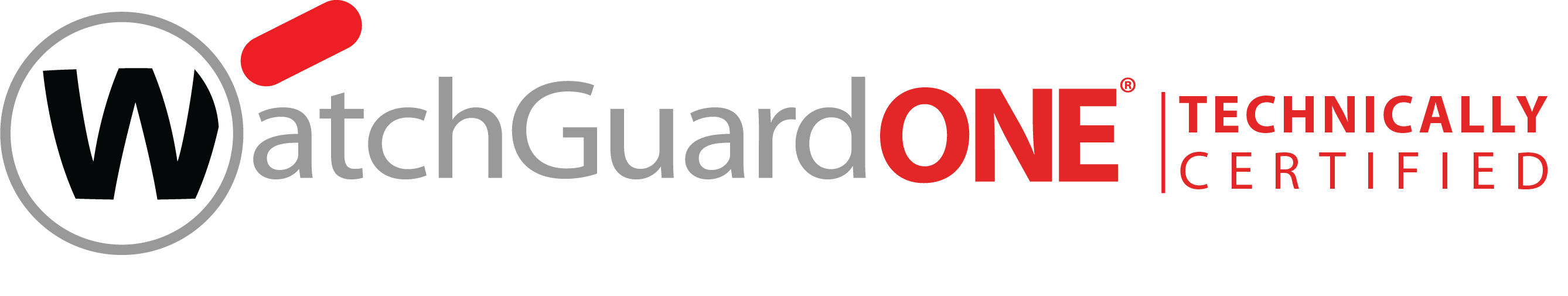 WatchGuard Technically Certified Logo