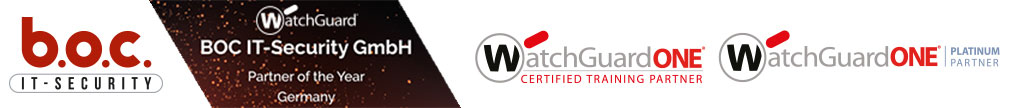 BOC IT-Security GmbH – WatchGuard Hardware Firewall VPN